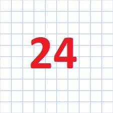 24 клітинка