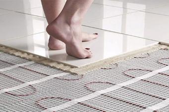для електричної теплої підлоги