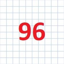 96 клітинка